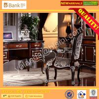Buy cheap (BK0109-0006)Luxury New Design Baroque Style Hand Carved Office Chair/Royal and Elegant Wooden Office Chair/Neo-classic from wholesalers