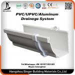 Buy cheap Vinyl Plastic building material, pvc rain gutter system for rain drain from wholesalers