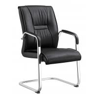 Buy cheap Durable Non Swivel Desk Chair , Home Office Leather Desk Chairs High End from wholesalers