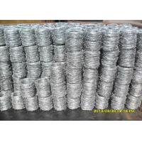 Buy cheap BWG 16 Single Electric Fence Barbed Wire For Lawn Railway ISO 9001 Certificatized from wholesalers
