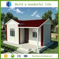 Buy cheap HEYA hot sale steel framed prefab house wooden bungalow homes with 3 bedrooms from wholesalers