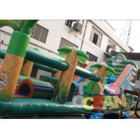 Buy cheap Ultimate Obstacle Course Bounce House / Bouncy Castle Playground For Kids from wholesalers