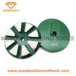 Buy cheap Redi Lock 8 Beveled Segment Diamond Grinding Pucks for Concrete from wholesalers