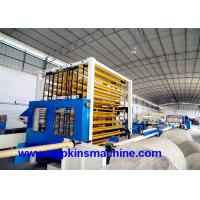 Buy cheap Small Toilet Paper Making Machine Production Line For Tissue And Kitchen Towel from wholesalers