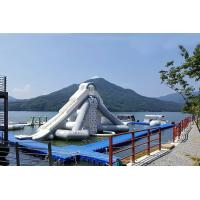 Buy cheap Giant Aquaglide Inflatable Water Park , Inflatable Water Assault Course With EN15649 from wholesalers