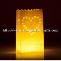 Buy cheap Wholesale happy birthday luminaire handmade paper lantern candle bags for christmas party from wholesalers