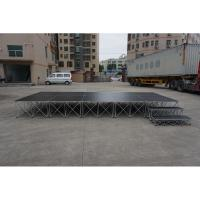 Buy cheap used festival stage modular diy runway stage portable smart stages for sale from wholesalers