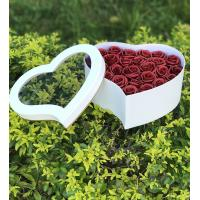 Buy cheap Cylinder Cardboard Heart Shaped Gift Box For Wedding Gift / Flower Box from wholesalers