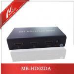 Buy cheap 2-Port HDMI Splitter,HDMI Amplifier  MB-HD02DA from wholesalers