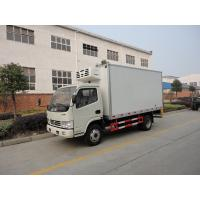 Buy cheap DFAC 4*2 5ton fresh meat tempratured delivery box van from wholesalers