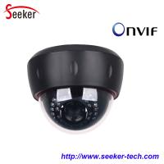 Buy cheap 2014 New Hot Selling Vandalproof Black HD 720P 1.0 Mega Pixel Ip Cameras Indor Onvif POE from wholesalers