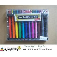 Buy cheap Closeout,stocklot,liquidators,surplus,overstock Water Color Pen Set from wholesalers