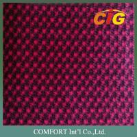 Buy cheap Red Jacquard Auto fabric / Auto Upholstery Fabric 220GSM 240GSM 200GSM 150CM product