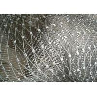 Buy cheap Decorative Ferrule Flexible Stainless Steel Wire Rope Mesh For Stair Railing from wholesalers