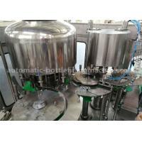 Silver Gray 5L Water Bottle Filling Machine 2.2KW Motor Power For Plastic Bottled Water