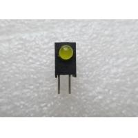 Buy cheap Bi - Level LED Indicator 3mm  flat led diode with Black Casing and RoHS Compliance from wholesalers