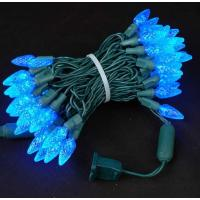 Buy cheap 70 Strawberry C6 Blue LED Christmas Lights from wholesalers