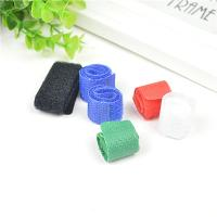 Self Adhesive Nylon Cable Drop Clips Computer Office Cable