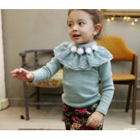 Buy cheap Thickening collars lace render unlined upper garment,children clothing from wholesalers