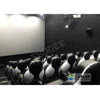 Buy cheap Customize Seats 5D Theater System Leather And Fiberglass Material product