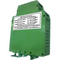 Buy cheap WAYJUN 3000VDC isolation DC current/voltage Conditioners(two in two out) Green DIN35 signal converter from wholesalers