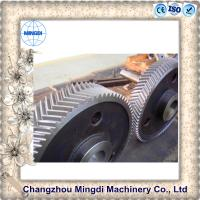 Buy cheap Custom Hobbing Herringbone Bevel Gear Assembly Transmission Parts from wholesalers