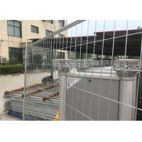 Buy cheap Silver Color Temporary Residential Fencing / Chain Link Construction Fence from wholesalers