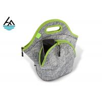 Buy cheap Sublimation Blank Insulated Neoprene Lunch Sack For Outdoor Picnic from wholesalers