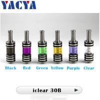 Buy cheap Yellow Green E Cig Vaporizer Rotational Innokin iClear 30B Atomizer from wholesalers