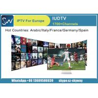 Buy cheap 1 year IUDTV subscription Best French channels package support E2 MAG Andriod TV BOX from wholesalers