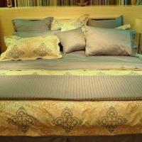 Buy cheap Yarn Dyed Duvet Covet Set, Customized Sizes and Colors are Accepted, Made of 100% Cotton product
