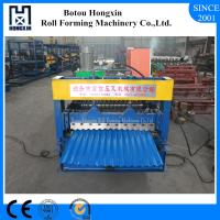 Buy cheap Galvanized Plate Corrugated Sheet Roll Forming Machine 13 Rows Rollers from wholesalers