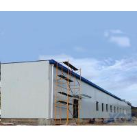 Buy cheap Prefab Large Long span steel roof structure warehouse building construction with Q345B steel from wholesalers