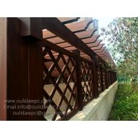 Buy cheap cutsomized pergola design:wood plastic pre built pergolas for car entrance from wholesalers