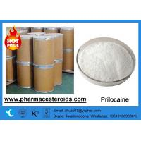 Buy cheap Medical Raw Powder Pain Reliver Topical Anesthesia Prilocaine CAS 721-50-6 from wholesalers