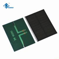 Buy cheap 6V 0.75W Poly Solar Photovoltaic Panels ZW-8060 Lightweight Solar PV Module 0.13A 80X60X2.5mm from wholesalers