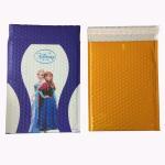Buy cheap Foil Metallic Self Seal Bubble Envelopes Black Matte Aluminized Bubble Mailers Bags from wholesalers