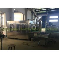 Buy cheap Rotary Type Drinking Pure Water Filling Machine , Mineral Water Filling Line product