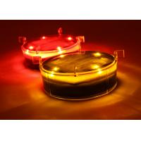 Buy cheap Solar Dock Decorative Lights With Flashing or Steady Lighting Outdoor Waterproof IP68 Strong Polycarbonate Shell from wholesalers