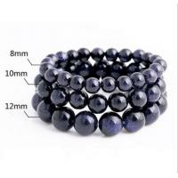 Buy cheap Blue sandstone natural crystal bracelet Wishing star stone lovers hand string bracelet from Wholesalers