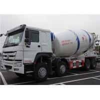 Buy cheap HOWO 8X4 12M3 Ready Mix Concrete Truck 12 Cubic Meters With Mixer Drum from wholesalers