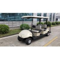 Buy cheap EQ9042 48V 3kw 4 seats electric golf cart with caddy plate from wholesalers