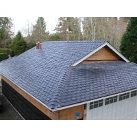 Buy cheap Dark Grey/Black Slate Roof Tiles Chinese Roofing Slate Stone Roofing Materials from wholesalers