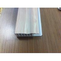 Buy cheap Laminate Flooring Skirting Board Trim , Decorative White Laminate Skirting Board Plastic from wholesalers