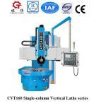 Buy cheap CVT160 China single column vertical turret lathe VTL vertical turning lathe machine from wholesalers