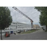 Buy cheap Tower crane 46m with max load of 10 tons and tip load 1.8 tons for construction from wholesalers