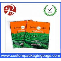 Buy cheap Biodegradable Tea plastic packaging bags , Stand Up Zipper Bag Shock Resistant from wholesalers