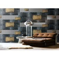 Buy cheap Non - Pasted Retro PVC Waterproof Wallpaper , 3d Wallpaper For Home Wall product
