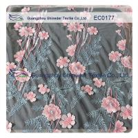 Buy cheap High Fashion Floral Embroidered Polyester Lace Fabric For Hot Summer Clothing from wholesalers