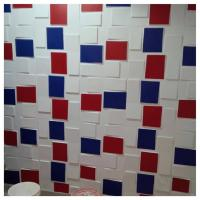 Buy cheap Bathroom Plastic Rube 3D Decorative Wall Panels Non Toxic Panelling For Walls product